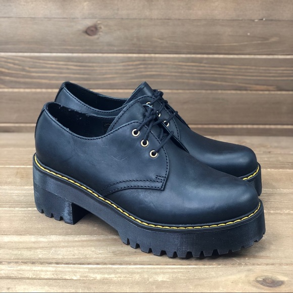 New Dr Martens Womens Black Leather